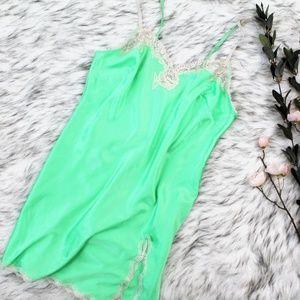 Victoria's Secret Green Silky Nightie